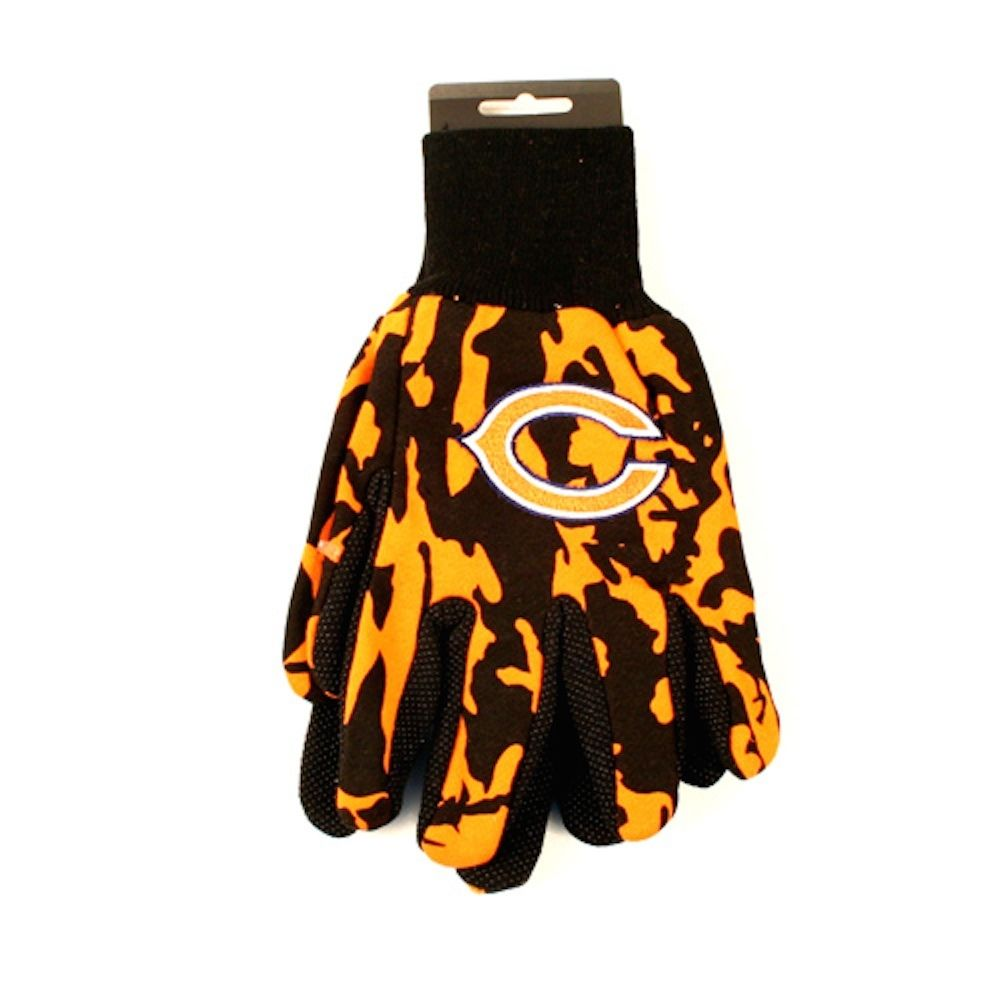 Chicago Bears Team Color Camo Sport Utility Gloves by WINCRAFT INC