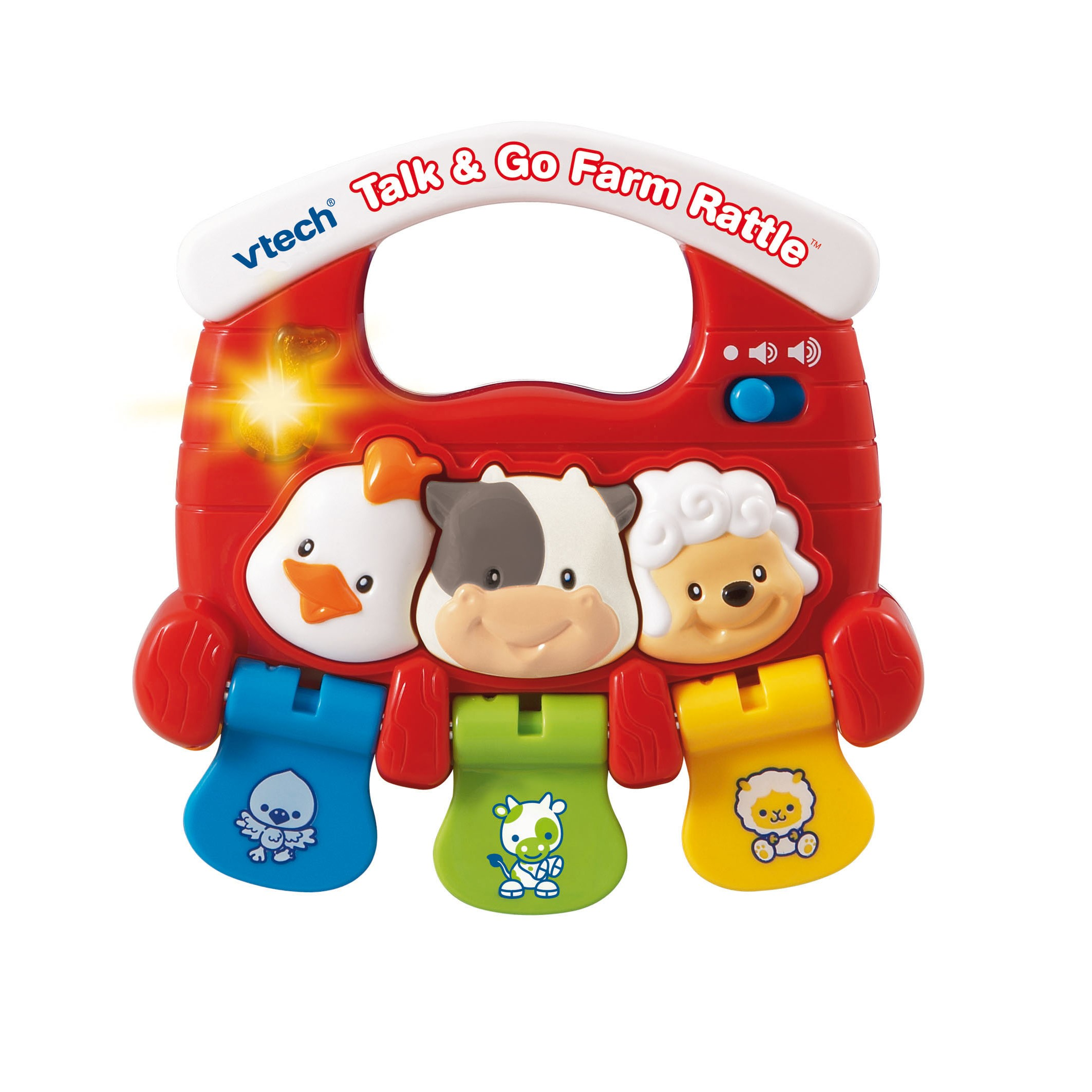 VTech Baby Talk and Go Farm Rattle by VTech Baby