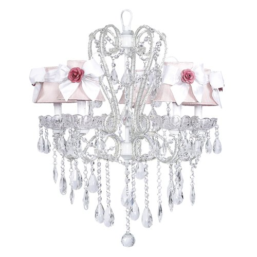 Jubilee Collection Carousel 5 Light Chandelier with Bell Shade