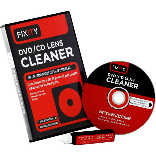 Fixity DVD/CD Laser Lens Cleaner