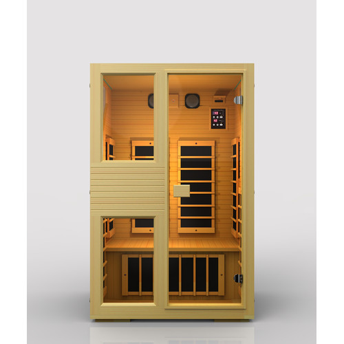 JNH Lifestyles Ensi 2 Person Carbon FAR Infrared Sauna by JNH Lifestyles