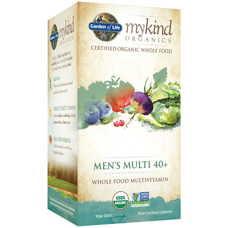 Garden of Life mykind Organics Men's 40+ Multi 120