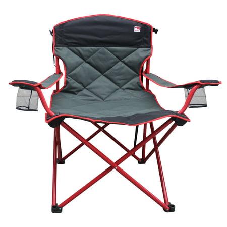 - Outdoor Spectator 500 lb. Capacity XXL Big Boy Padded Quad Folding Camp Chair