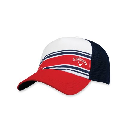 CALLAWAY STRIPE MESH HAT MENS ADJUSTBALE GOLF CAP - NEW 2018- CHOOSE COLOR!](Golf Hat)