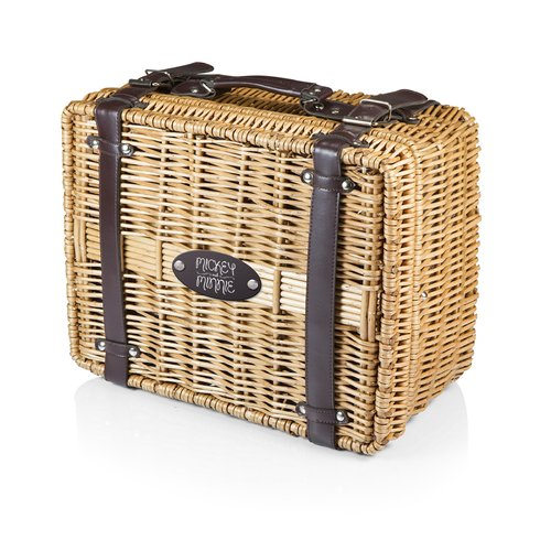 Picnic Time Mickey and Minnie Mouse Champion Picnic Basket