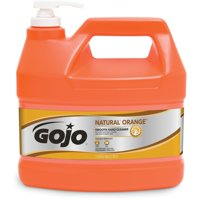 Gojo®, GOJ094504, NATURAL* ORANGE Smooth Hand Cleaner, 1 Each, Orange, 1 gal (3.8 L)
