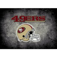 San Francisco 49ers Imperial 6' x 8' Distressed Rug