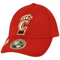 NCAA Top of the World Cincinnati Bearcats Jock One Fit Stretch Flex Fit Hat Cap