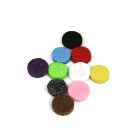 12.5mm Replacement Pads for 20mm Diffuser Necklaces- Set of 10