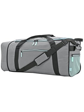 Product Image Protege 32 Compactible Rolling Duffel Gray