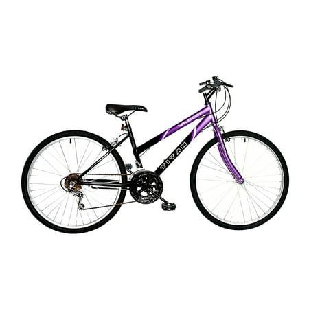 TITAN Wildcat 12-Speed Women's Mountain Bike, Purple & Black ()