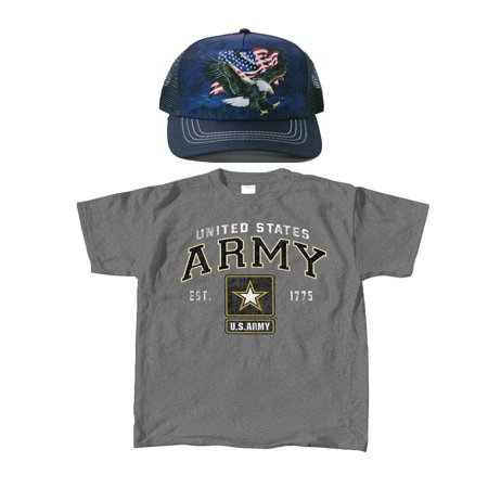 ExpressBeyond - ExpressBeyond ARMY Graphite Adult Unisex T-Shirt ... 9f234c1a717