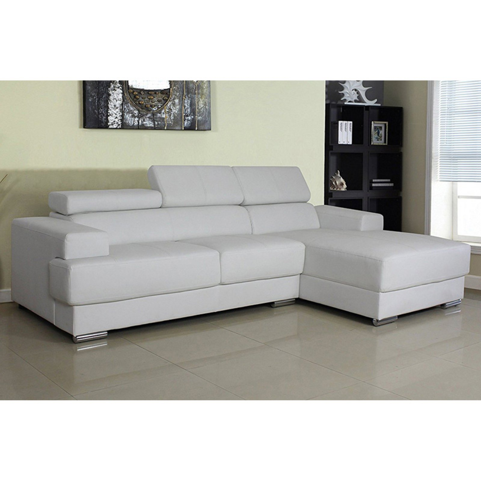 U.S. Pride Furniture Direct Gabriel Modern Sectional Sofa