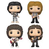 Funko POP! Rocks Queen Collectors Set - Freddie Mercury, Roger Taylor, Brian May, John Deacon