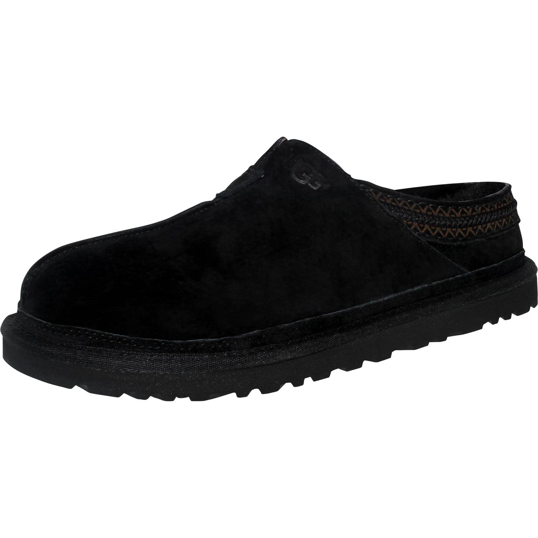 Ugg Women's Neuman Black Ankle-High Leather Slipper - 11M