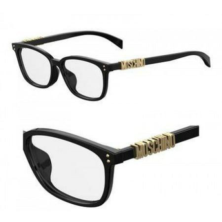Moschino MO Mos515 Eyeglasses 0807 Black