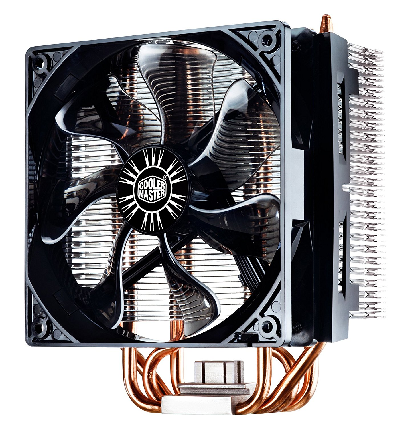 Cooler Master Hyper T4 CPU Cooler with 4 Direct Contact Heatpipes, INTEL/AMD with AM4 Support (RR-T4-18PK-R1)