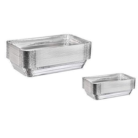 """10 Full Size Deep Steam Table Pans, 10 Half Size Table Pans 