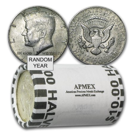40% Silver Coins $10 Face Value Roll Avg Circ - Chinese Coins Value