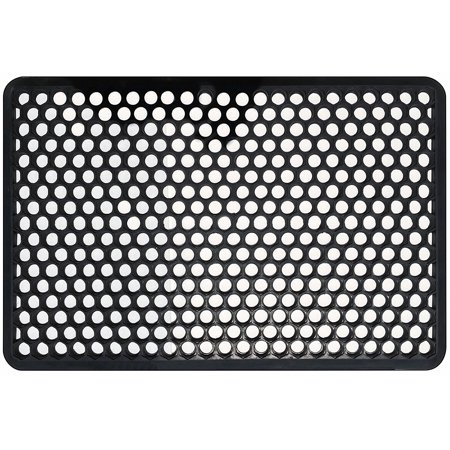 Shepherd Hardware 8101E Indoor/Outdoor Recycled Rubber Floor Mat - 22 x 34 x 1/2 Inches,