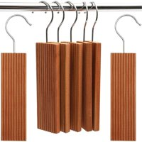 16 Pack 100% Natural Red Cedar Wood Hang Ups (1.8 x 0.4 x 6.5 inches) for Closet, Clothes Storage Moth Protection, Drawers and Closets, Wardrobes, Moth Repellent, Natures Deodorizer