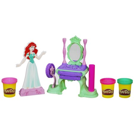 Play-Doh Disney Princess Princess Ariel's Vanity Set (Playdough Princess)
