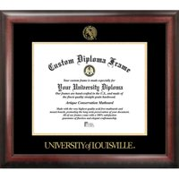 "University of Louisville 14"" x 17"" Gold Embossed Diploma Frame"