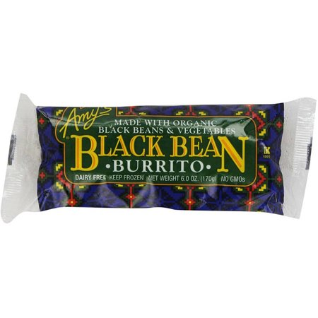 Amy's Vegetarian Burritos & Wraps, (Pack of 12), Frozen, Multiple Flavor Options Available
