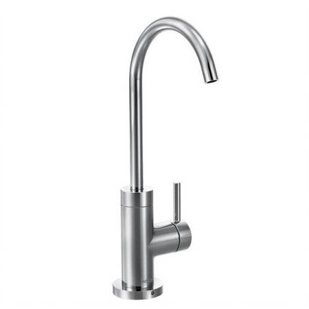 Moen S5530SRS Sip Cold Water Only Kitchen Faucet, Available in Various Colors (Drinking Water Faucet Moen)