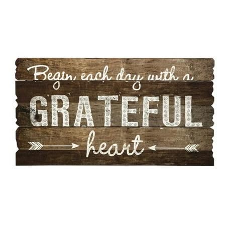 IMAX Corporation Grateful Heart Wall Panel in Brown - image 1 de 1