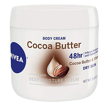 NIVEA Cocoa Butter Body Cream - 48 Hour Moisture For Dry Skin To Very Dry Skin - 15.5 oz. Jar - image 3 of 3