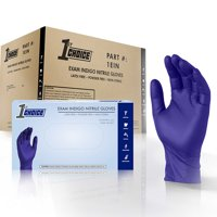 1st Choice Nitrile Latex-Free Medical Disposable Gloves