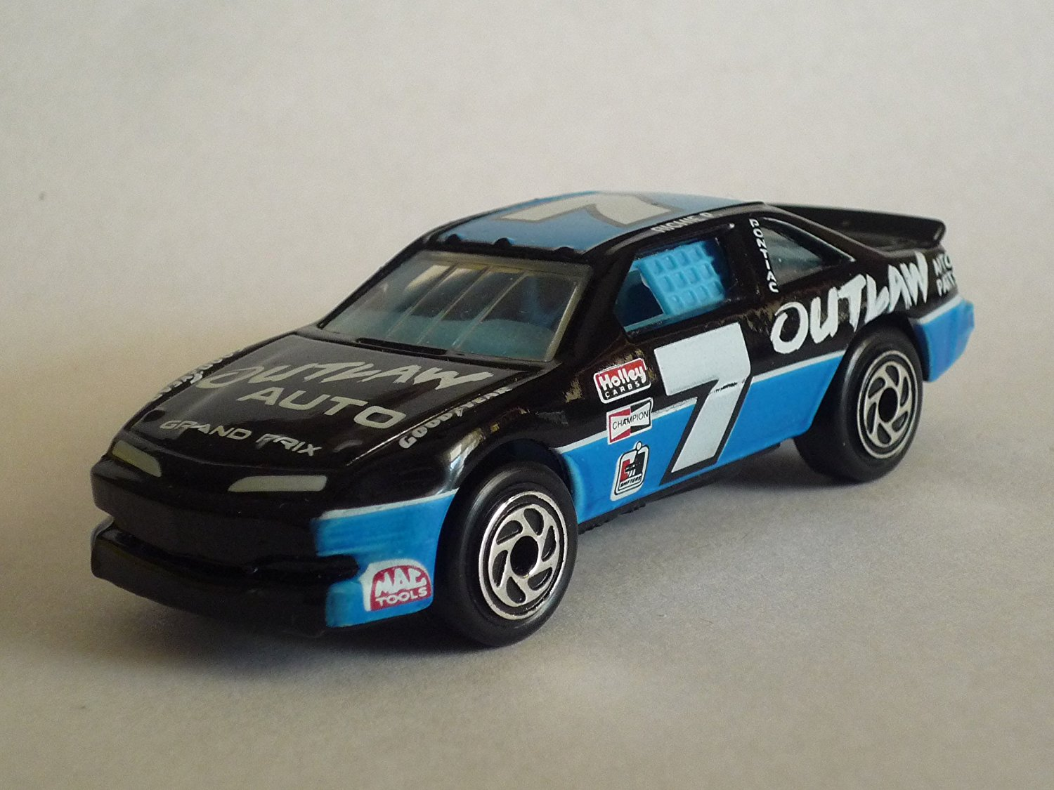 1995 #35 Pontiac Stock Car, By Matchbox Ship from US by