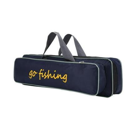 Yosoo Outdoor Fishing Rod Pole Reel Lures Box Tackle Storage Bag Handbag Adjustable Strap ,Fly Fishing Bag, Fishing Bag thumbnail
