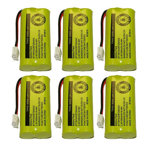 Replacement VTech 89-1326-00-00 NiMH Cordless Phone Battery (6 Pack)