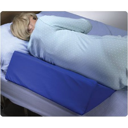 Skil care 30 degree bed wedge 7quot x 12 x 24quot convoluted for 30 degree wedge pillow