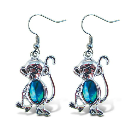 Aqua Jewelry  - Earrings - Dangle Post - Fish Hook - - Dangle Fish