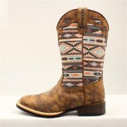 Twister 446001502-2.5 Magan Childrens Boot, Brown - Size 2.5