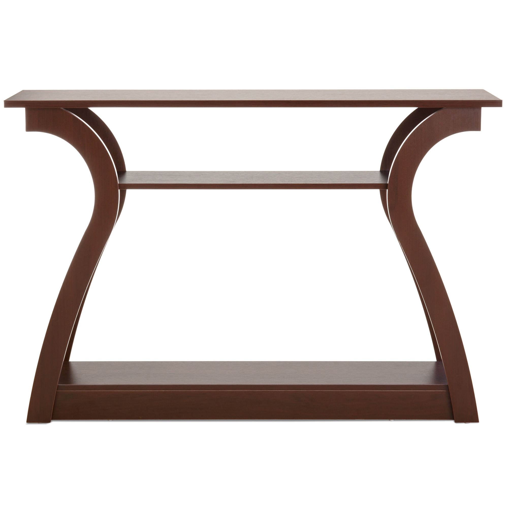 Best Choice Products 47in 3 Shelf Modern Decorative Console Accent Table  Furniture For Entryway,