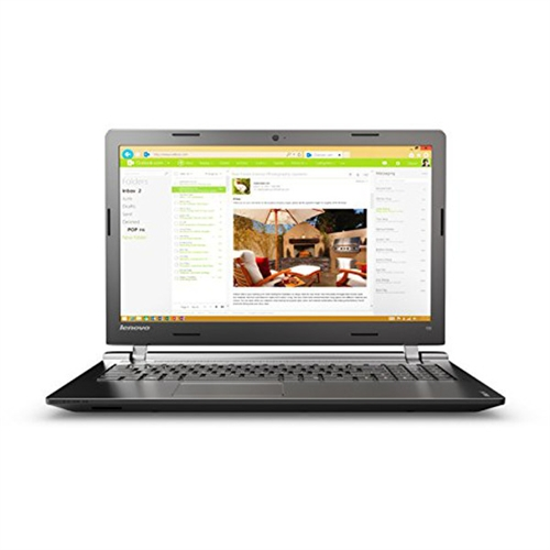 "Lenovo IdeaPad 100-15IBD 80QQ002DUS 15.6"" 16:9 Notebook - Intel Core i3 (5th Gen) i3-5020U Dual-core (2 Core) 2.20 GHz -"