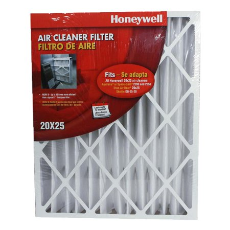 - Honeywell High Efficiency 20 x 25 x 4.5 Inch Cleaner Air Filter | CF100A1025-U