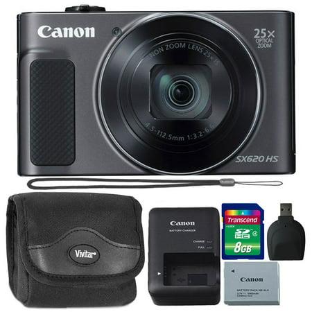 Canon PowerShot SX620 20.2MP HS Digital Camera + 8GB Memory Card & Card Reader - image 1 of 5