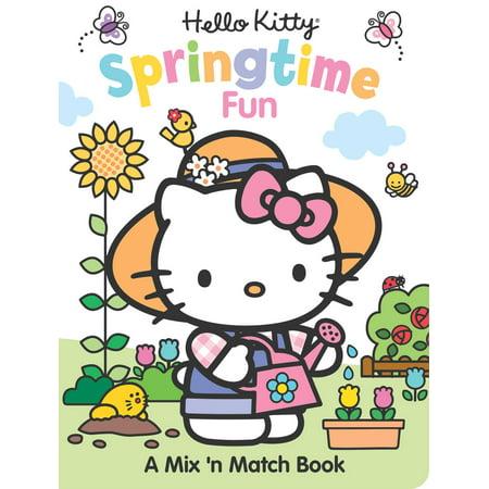 Springtime Activity - Hello Kitty Springtime Fun : A Mix 'n Match Book