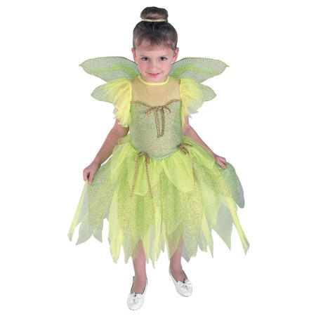 Girl's Tinkerbell Costume - Size TODDLER