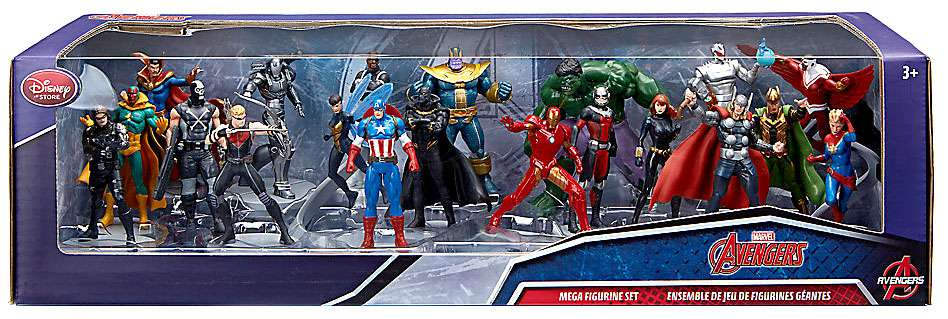 Marvel Avengers PVC Figure Mega 20-Pack Set by