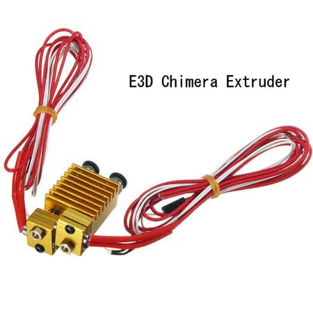 Chimera Extruder Multi-extrusion  V6 Dual Head Extruder, J-head 0.4/1.75m - image 6 de 9