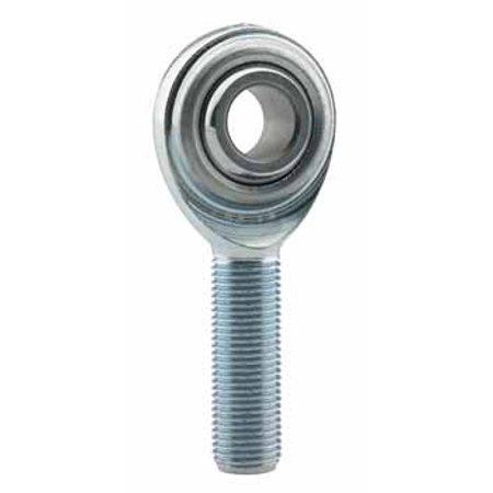 FK Bearing CM12MF Male Rod End, Metric 12mm Bore x M12 X 1.25 RH Thread ()