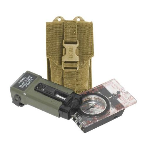 BlackHawk S.T.R.I.K.E. Compass/Strobe Pouch with Speed Clip, Coyote Tan