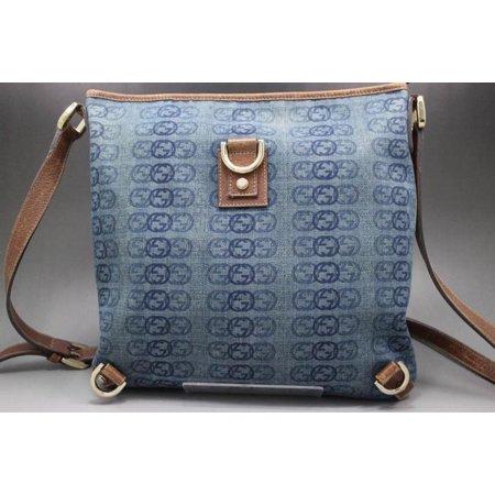 - Abbey Crossbody 229044 Blue Denim Messenger Bag
