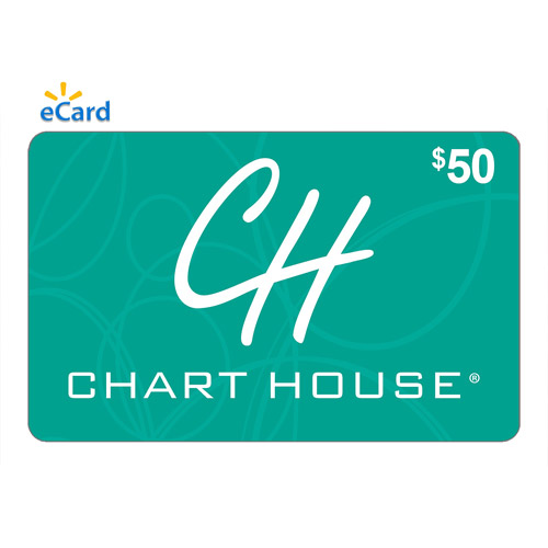 Chart House $50 eGift Card (Email Delivery)